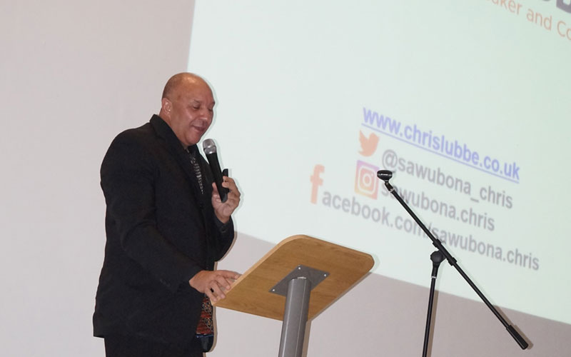 DLD College London Welcome Chris Lubbe