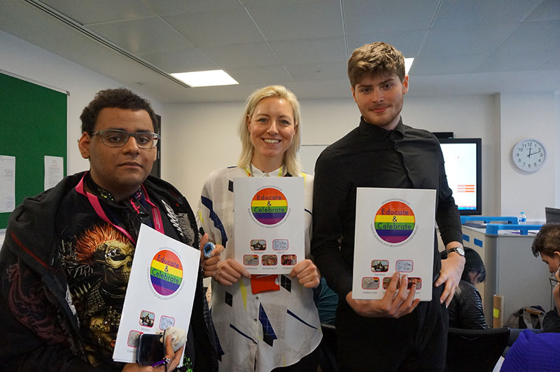 DLD College London Youth Pride Networking