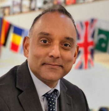 DLD College London Principal Irfan Latif