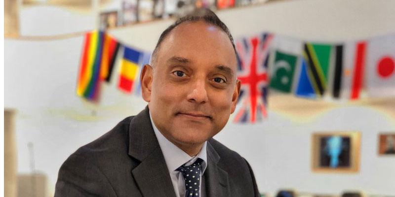 DLD College London Principal Irfan Latif