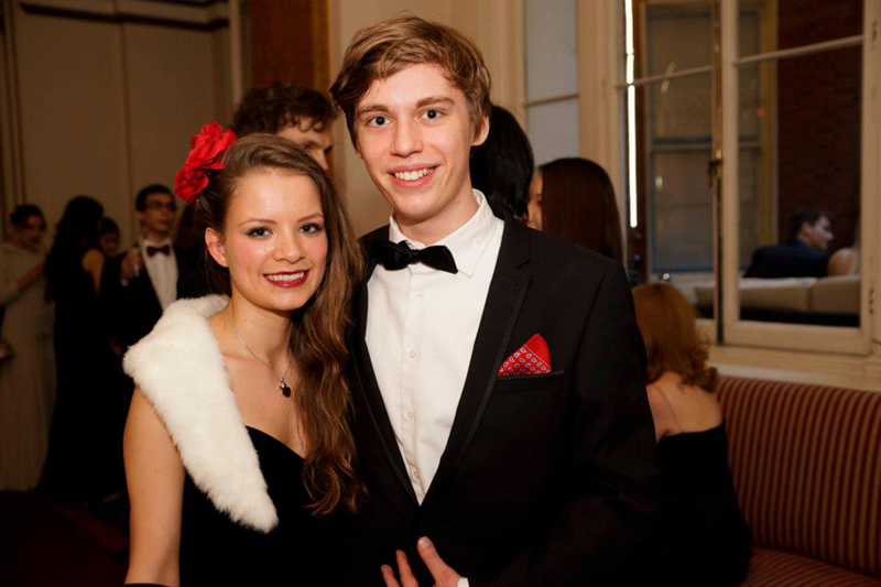 DLD College London A level students at the 2014 prom