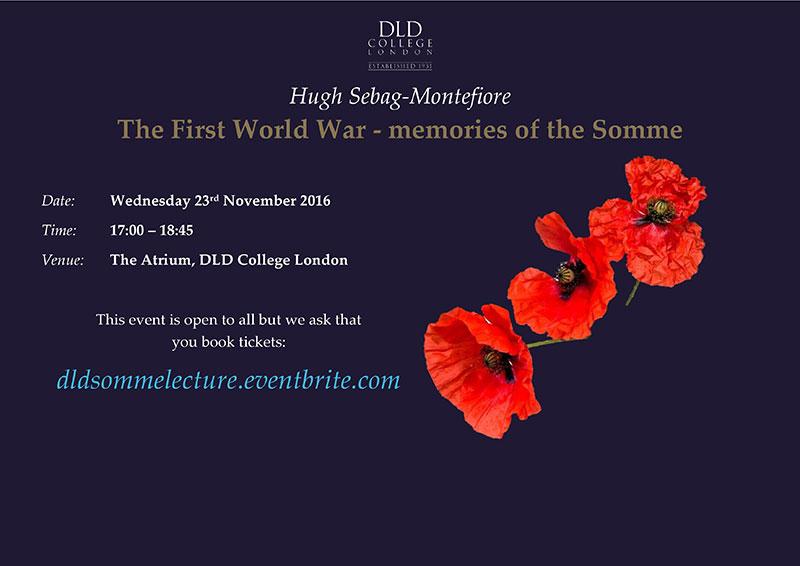 DLD College London Public Lecture