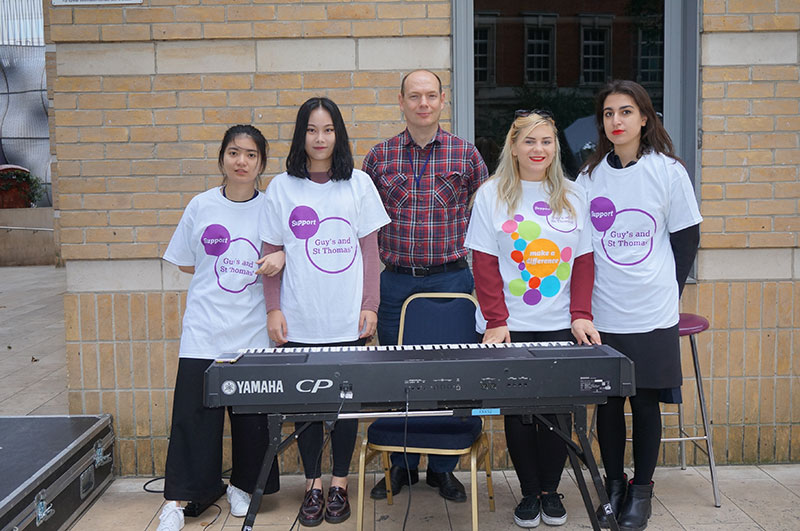 DLD College London Students raise Money For Guy's Hospital