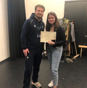 Charlotte Price Challenge Certificate