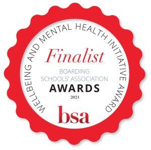 BSA Awards 2021 Finalist - Wellbeing & Mental Health Initiative Award