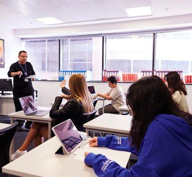 DLD College London English Classroom