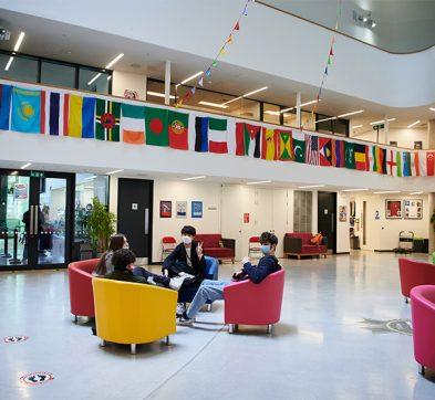 DLD College London Main Atrium