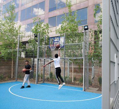 DLD College London Multisports Court