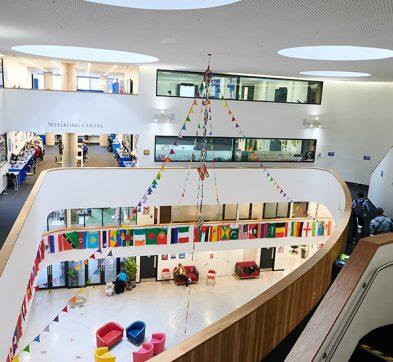 DLD College London Second Floor Balcony