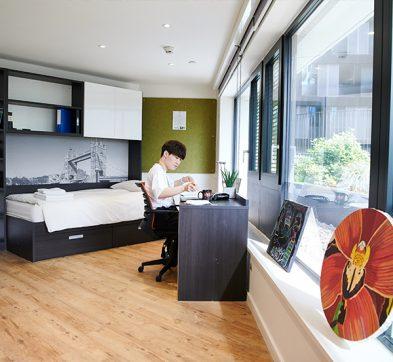 DLD College London Student Bedroom