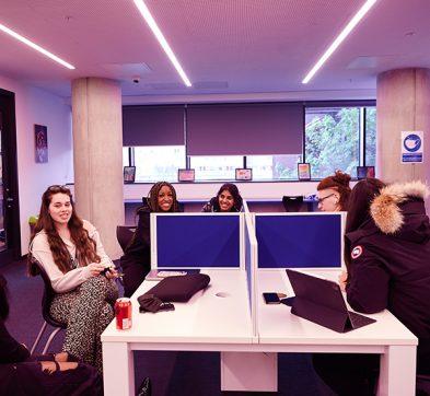DLD College London Study Area