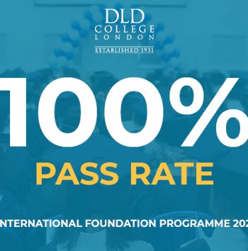 DLD College London International Foundation Prorgamme 100% Pass Rate in 2021