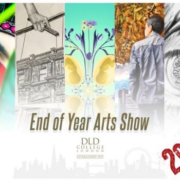 End Of Year Arts Show Invitation 2021