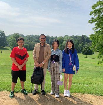 Academic English trip to Kenwood House