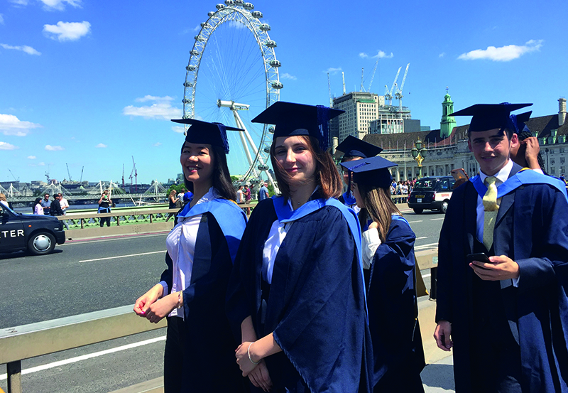 DLD Students Graduation At The Houses Of Parliament